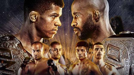 Dua legenda UFC, Eddie Alvarez dan Demetrious Johnson harus tumbang di ajang ONE Championship bertajuk ONE on TNT 1. - INDOSPORT