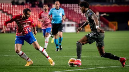 Pertandingan Granada vs Manchester United di Liga Europa 20/21 - INDOSPORT