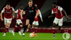 Indosport - Hasil Pertandingan Liga Europa Arsenal vs Slavia Praha