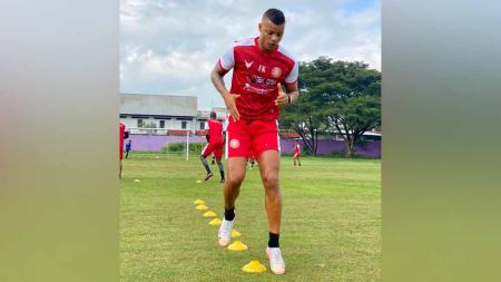 Pemain asing Persiraja di Piala Menpora 2021, Gabriel do Carmo. - INDOSPORT