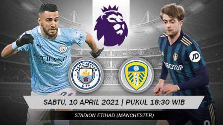 Pertandingan Manchester City vs Leicester City FC (Liga Inggris). - INDOSPORT
