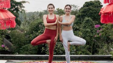 Lakukan Yoga Sebelum Olahraga Lari, Olivia Jensen Rasakan Sejumlah Manfaat