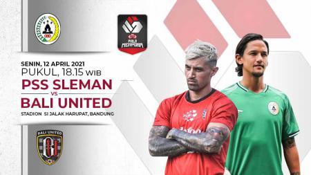 PSS Sleman vs Bali United - INDOSPORT