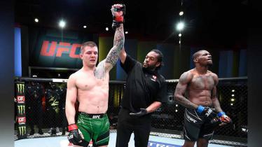 Berikut hasil lengkap UFC Vegas 23, di mana Marvin Vettori berhasil mengalahkan Kevin Holland pada Minggu (11/04/21) dini hari WIB. - INDOSPORT