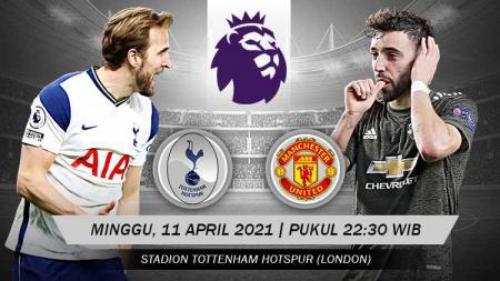 Pertandingan Tottenham Hotspur vs Manchester United (Liga Inggris). - INDOSPORT