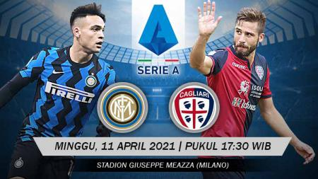 Pertandingan Inter Milan vs Cagliari (Serie A Italia). - INDOSPORT
