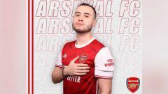 Indosport - Pemain PES asal Indonesia yang kini bermain untuk Arsenal Esports, Indominator, ikut cetak gol ke gawang Galatasaray.