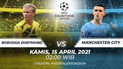 Indosport - Borussia Dortmund vs Manchester City.