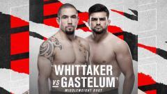 Indosport - Robert Whittaker vs Kelvin Gastelum di UFC Vegas 24