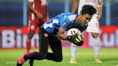 Indosport - Kiper muda PSM Makassar, Hilmansyah.