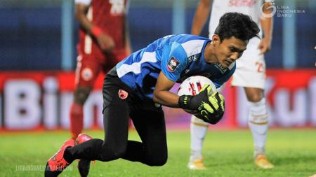 Kiper muda PSM Makassar, Hilmansyah. - INDOSPORT