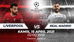 Indosport - Prediksi Liga Champions: Liverpool vs Real Madrid, The Reds Belum Menyerah.