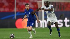 Indosport - Jorginho di laga Chelsea vs FC Porto