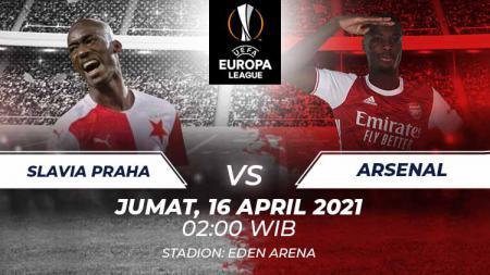Berikut link live streaming pertandingan leg kedua babak perempatfinal Liga Europa 2020/21 antara Slavia Praha vs Arsenal. - INDOSPORT