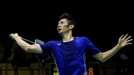 Eks pebulutangkis peringkat 5 dunia asal Vietnam, Nguyen Tien Minh berhasil menyamai rekor dua legenda bulutangkis dunia, yakni Lin Dan dan Lee Chong Wei. - INDOSPORT