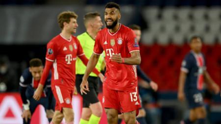 Pemain Bayern Munchen, Choupo-Moting (13) saat pertandingan melawan PSG di Liga Champions. - INDOSPORT
