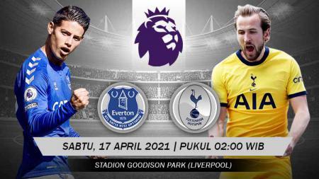 Pertandingan Everton vs Tottenham Hotspur (Liga Inggris). - INDOSPORT