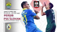 Indosport - Berikut link live streaming pertandingan leg pertama semifinal turnamen pramusim Piala Menpora 2021 antara Persib Bandung vs PSS Sleman.