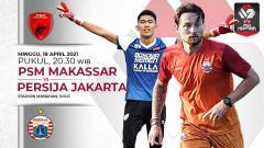 Indosport - Berikut link live streaming pertandingan leg kedua babak semifinal Piala Menpora 2021 antara PSM Makassar vs Persija Jakarta.