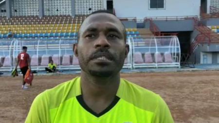 Penggawa anyar Muba Babel United, Angelberd Sani. - INDOSPORT