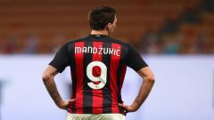 Indosport - Striker AC Milan, Mario Mandzukic