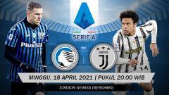 Indosport - Berikut prediksi pertandingan Serie A Liga Italia 2020-2021 antara Atalanta vs Juventus.