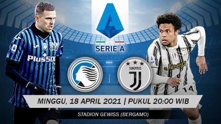 Berikut prediksi pertandingan Serie A Liga Italia 2020-2021 antara Atalanta vs Juventus. - INDOSPORT