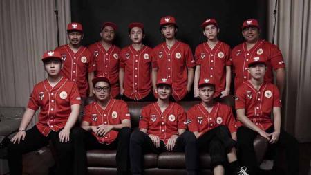 Skuat Timnas eSPORT Basket Indonesia. - INDOSPORT