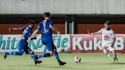 Laga Persib Bandung vs PSS Sleman pada leg 1 semifinal Piala Menpora 2021.