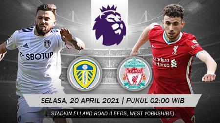 Ini prediksi pertandingan Liga Inggris antara Leeds United AFC vs Liverpool. - INDOSPORT
