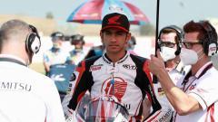 Indosport - Andi Gilang pembalap Honda Team Asia di Moto3 asal Indonesia.