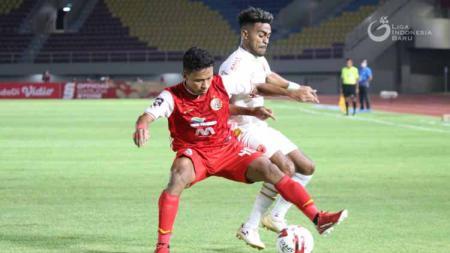 Pertandingan leg kedua semifinal Piala Menpora antara Persija Jakarta vs PSM Makassar. - INDOSPORT
