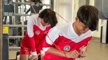 Skuat Garuda Select 3 yang sempat dilarang berlatih ke gym akhirnya mendapatkan akses kembali. - INDOSPORT