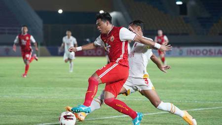 Menteri Pemuda dan Olahraga (Menpora), Zainudin Amali turut menyaksikan semifinal leg kedua Piala Menpora 2021 antara Persija dan PSM Makassar. - INDOSPORT