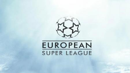 Logo European Super League - INDOSPORT