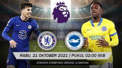 Indosport - Berikut link live streaming pertandingan Liga Inggris pekan ke-32 antara Chelsea vs Brighton & Hove Albion.
