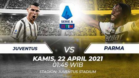 Berikut link live streaming pertandingan lanjutan Serie A Italia giornata ke-32 antara Juventus vs Parma. - INDOSPORT