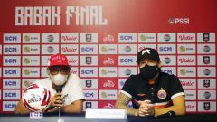 Indosport - Sudirman ingatkan soal sportivitas jelang leg pertama final Piala Menpora antara Persija vs Persib.