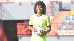 Indosport - Bek anyar Muba Babel United berjuluk Puyol, Luis Irsandi