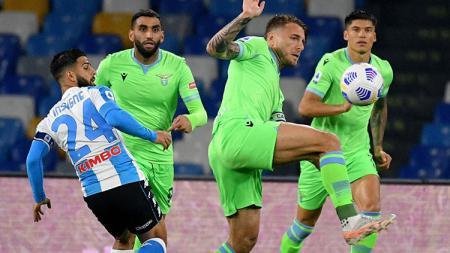 Napoli vs Lazio. - INDOSPORT