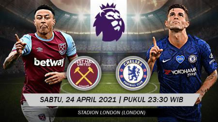 Link Live Streaming Liga Inggris: West Ham vs Chelsea - INDOSPORT