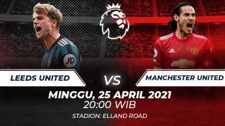 Link Live Streaming Liga Inggris: Leeds United vs Manchester United - INDOSPORT