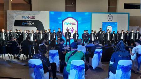 Rans Cilegon FC merencanakan untuk menggelar laga trofeo dengan 3 klub Indonesia. - INDOSPORT