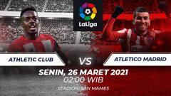 Indosport - Berikut prediksi untuk pertandingan LaLiga Spanyol antara Athletic Bilbao vs Atletico Madrid, Senin (26/04/21) pukul 02.00 di stadion San Mames.