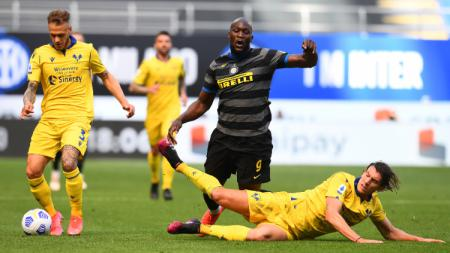 Pertandingan Liga Italia Inter Milan vs Verona - INDOSPORT