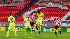 Indosport - Duel di laga Athletic Bilbao vs Atletico Madrid, Senin (25/4/21).