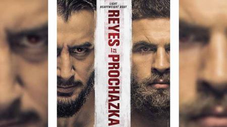 Berikut link live streaming UFC Vegas 25, yakni akan ada duel utama antara Dominick Reyes vs Jiri Prochazka hari ini, Minggu (02/05/21) - INDOSPORT