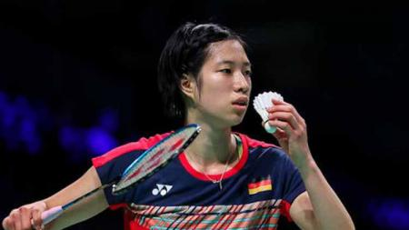 Pebulutangkis Jerman, Yvonne Li, akan menjadi andalan Jerman di Piala Sudirman 2021. - INDOSPORT