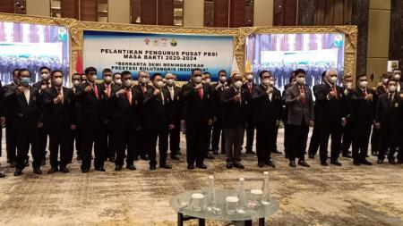 Pelantikan PP PBSI Periode 2020-2024. - INDOSPORT