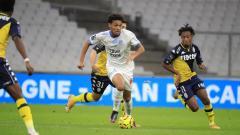 Indosport - Gelandang Marseille, Boubacar Kamara yang dikaitkan dengan Chelsea.